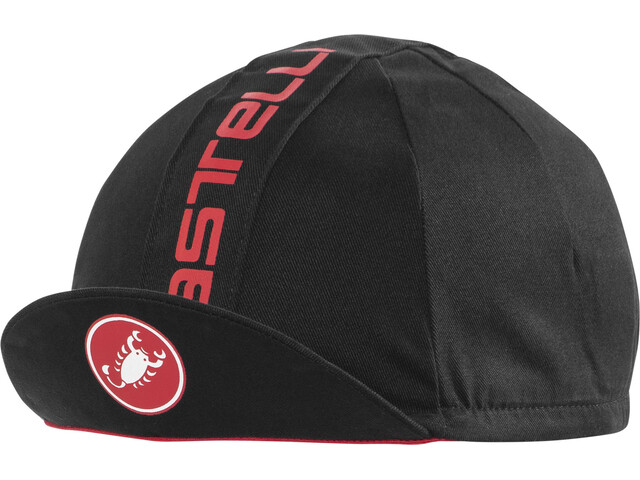 Castelli Retro 3 Hovedbeklædning, black